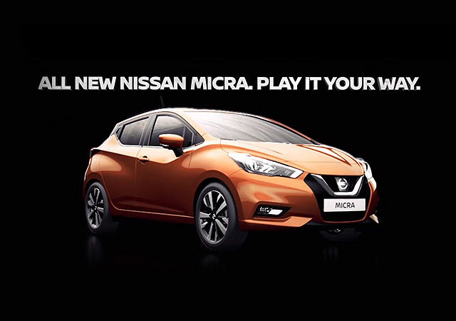 HTML5 AD – Nissan Micra 2017