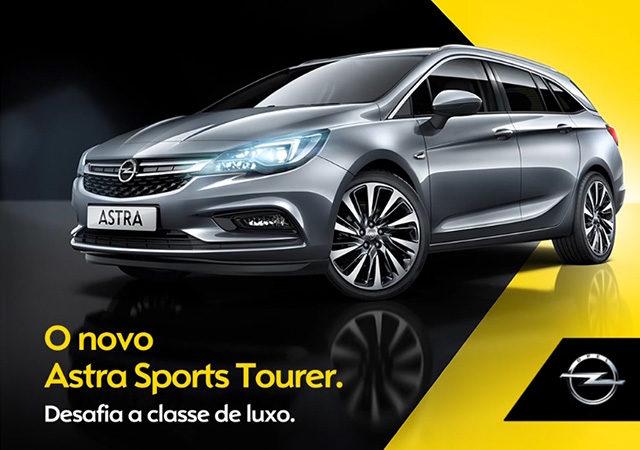 MUPI Opel Astra – Lançamento